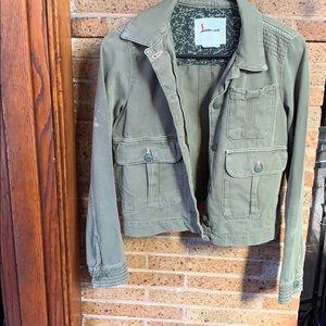 Anthropologie women's Jean jacket.